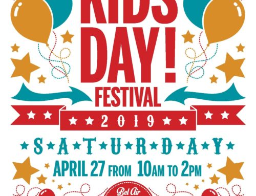 Saturday, April 27: 6th Annual Kid's Day Festival!